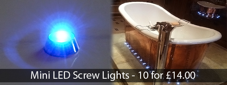 Mini LED Screw Lights
