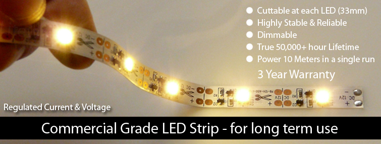 Regulated Voltage & Current LED Strip
