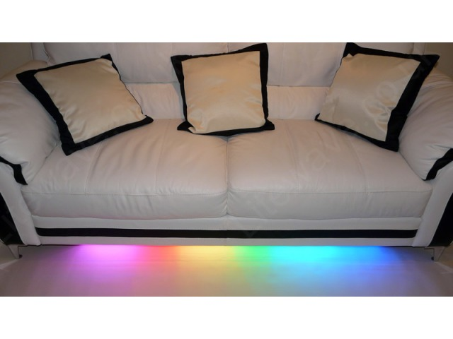 colour changing led sofa kit furniture lighting. Black Bedroom Furniture Sets. Home Design Ideas