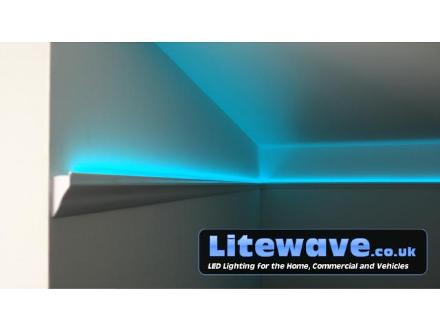 Aluminium Led Profile Wall Uplighting Recessed Lighting