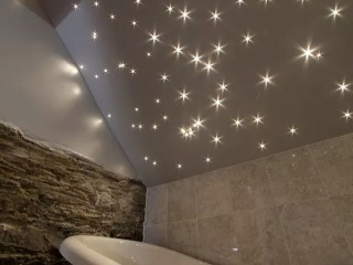 Bathroom with a Star Ceiling