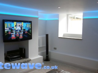 LED Wall Uplighting