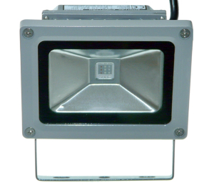 10w ICELED RGB Flood Light view of front