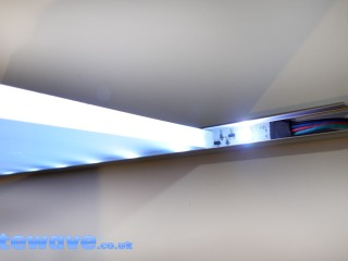 How to illuminate Glass Balustrades and Shelves
