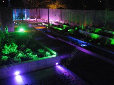Coloured Led Garden Spotlights Garden Ftempo