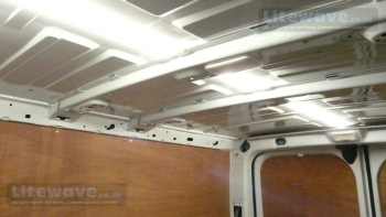 /LED Van Lighting - Inside of Work Van