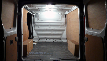 LED Van Lighting - Rear of Work Van