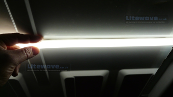 LED Van Lighting - size of LED Tube.