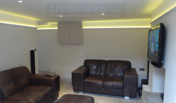 LED Profile - Wall Uplighter with LED Strip