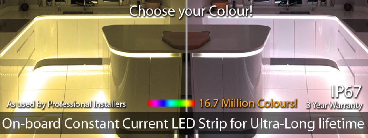Constant Current LED Strip and Tape for lighting kitchens